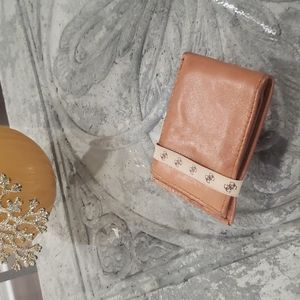 GUESS LEATHER MINIMAL WALLET